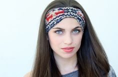 Very Cute Turbans Headband with  cute  print  made from by aCutee, $12.95