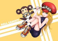 Roll Caskett by Ku-On on DeviantArt Capcom Street Fighter, Mega Man, Casket, Tigger, Character Art, Mickey Mouse, Disney Characters, Fictional Characters, Deviantart