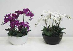 TreeLocate - Artificial flowers in pot #windowdisplay #artificialflowers