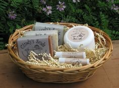 """Nothing says """"I appreciate you"""" like a basket full of handmade goods.  #willow #wholesalebasket"""