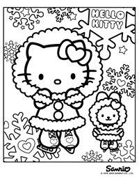 Escamo Hello Kitty LET IT SNOW Everyone Should Have