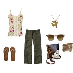casual summer day by elizabeth-mauch-bergeron on Polyvore
