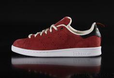 Adidas - Adidas Originals Stan Smith sneaker Rust Red Core Black Cream White B24715 - Fahrenheitstore