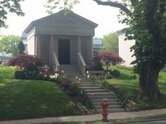 Springtime at Greenwood Cemetery. Greenwood Cemetery, Spring Time, Gazebo, Brooklyn, Outdoor Structures, Beautiful, Kiosk, Pavilion, Cabana