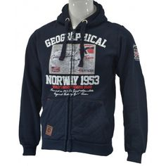 Pánská mikina Geographical Norway GANTAIN MEN navy | Freeport Fashion Outlet