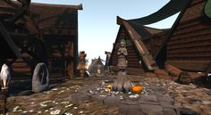 The Echtra sim was sponsored by The Lost Unicorn Gallery. Fantasy, Sim, Unicorn, Lost, Gallery, Building, Outdoor Decor, Roof Rack, Buildings