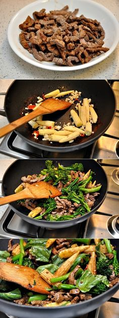 Thai Beef, Vegetables & Basil Stir Fry