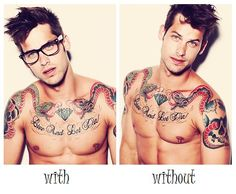 Take it Either Way (Not so Much about the Tattoos)