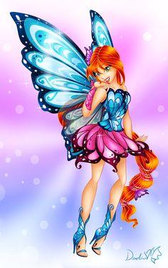 bloom winx club dark fairy Xxx