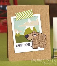 Heather Campbell - Paper Crafts & Scrapbooking Card Creations for Him
