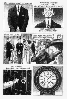 Excerpt from The Love Song of J Alfred Prufrock by T.S. Eliot, illustrated by Julian Peters
