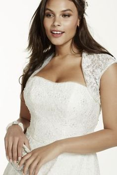 Wedding dress also available in plus size check your local stores for