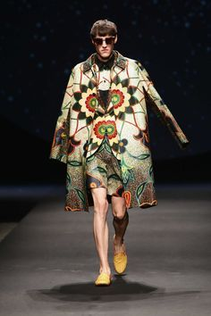 Dent De Man  Spring Summer 2016 Primavera Verano #Menswear #Trends #Tendencias #Moda Hombre - Constellation Africa For Pitti Uomo - D.P.
