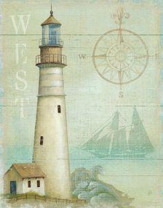 West Coastal Light Print by Daphne Brissonnet at AllPosters.com