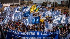 Estudantes protestaram na Esplanada dos Ministérios, em Brasília (DF), em junho de 2013
