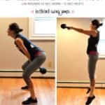 Lower-Body & Back Kettlebell Interval Workout