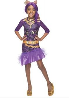 [Halloween Costumes Ideas] Rubies Monster High Frights Camera Action Clawdeen Wolf Costume, Child Small >>> Click image for more details. Old Halloween Costumes, Halloween Kids, Halloween Ball, Kids Costumes Girls, Girl Costumes, Costume Ideas, Rainbow Dash Kostüm, Dress Up Outfits, Girl Outfits