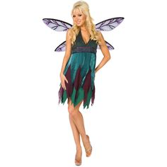 Midnight Dragonfly Adult Costume 800546