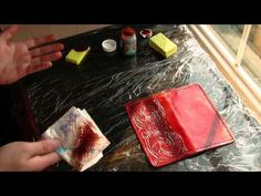 Leather Working Part 6 - YouTube