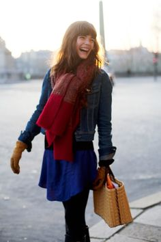 Made up of things most women have in their closet. love it for all its simplicity and fun. a good example of paris style