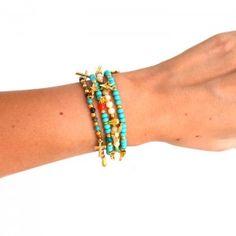 Pulsera Dijes Chaquiron www.dulceecanto.com - Tienda online de accesorios para mujer #accesorios #collares #bisuteria #moda #fashion #colombia
