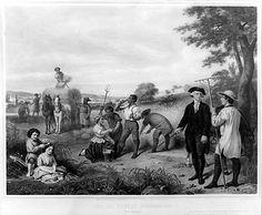 George Washington in Mount Vernon
