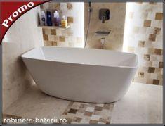 Cada de baie freestanding Terra 156 x 70 cm din compozit Bathtub, Standing Bath, Bathtubs, Bath Tube, Bath Tub, Tub, Bath