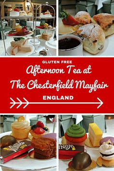 Afternoon Tea At The Chesterfield Mayfair Gluten Free Restaurantslondon