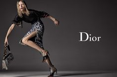 Julia Nobis stars in Dior's fall-winter 2016 campaign
