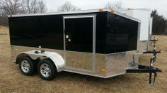 """7 x 12 tandem axle custom low rider enclosed motorcycle trailer  new 2014 vnose custom low rider cargo trailer 81"""" tall over all 60"""" interior with drop pan floor  615-483-7397 6154837397  $4250"""
