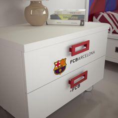 FC Barcelona bedroom for two kids Football Rooms, Football Bedroom, Soho Rooms, Soccer Room, Fc Barcelona, New Room, Baby Love, Kids Bedroom, Diy Projects
