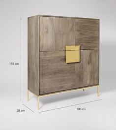 Banner cabinet, mango wood and charcoal Tv Unit Furniture, Steel Furniture, Furniture Design, Home Decor Bedroom, Living Room Decor, Mid Century Cabinet, Futuristic Interior, Sideboard Furniture, Grey Cabinets
