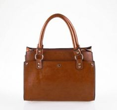 Women's Elegant Style Handbag Brown on BuyTrends.com, only price $18.75