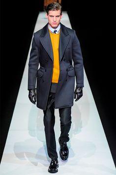 Emporio Armani Otoño-Invierno 2013, elegantes hasta en chándal
