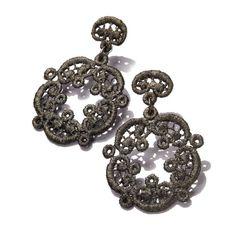"""Model 235-AG: Spitzen-Schmuck earrings """"Ariadne"""""""