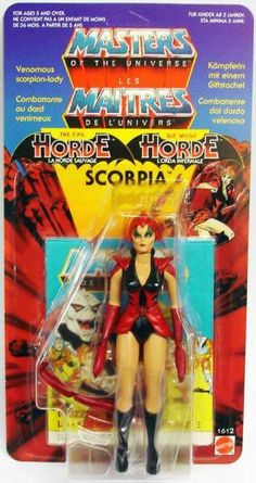 French Masters Of The Universe- Scorpia