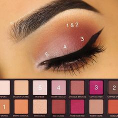 Anastacia Modern Renaissance look step by step – Make Up Time Eyeshadow Looks, Eyeshadow Makeup, Eyeshadow Primer, Makeup Brushes, Purple Eyeshadow, Colorful Eyeshadow, Pretty Makeup, Love Makeup, Beauty Makeup