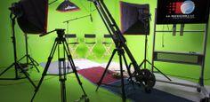 Nice green screen studio