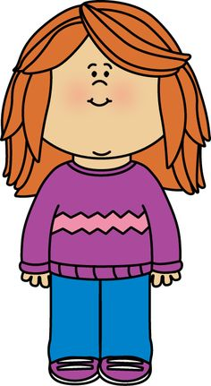 Girl with a school book from MyCuteGraphics | School Kids Clip Art ...