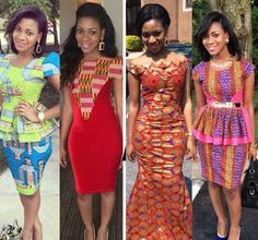 African Inspired Fashion Print Ankara