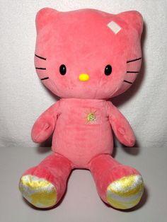 bda664bd2bf Build A Bear Hello Kitty Sunshine Plush Stuffed Animal 18