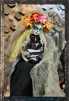 sugar skull bella by sutherland