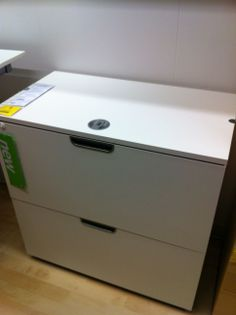 Ikea Galant 2 Drawer File Cabinet | New Office | Drawer ...