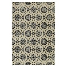 Classic inspirations in modern colors: the Taza Rug - Threshold is an ideal choice for adding a traditional rug that's still light and bright. Great for pulling living spaces together, the soft, well-made area rug is also sized for updating your home decor in hallways or bedrooms.