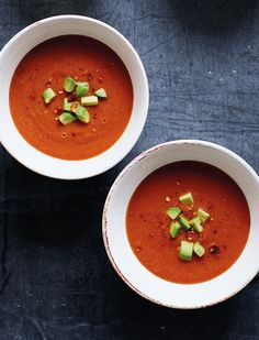 Prep Time: 15 MinutesServes 2–4High in vitamins, minerals and healthy fats, this avocado and tomato gazpacho is ideal for a light lunch or served up as part of a lazy afternoon spread. Plus, with only two steps, you can have it on the table in a flash.