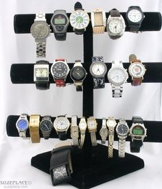 Wholesale Used Watch Lot Some Working & Some Not Waltham Timex Ironman Lionel Swiss Army SuzePlace.com