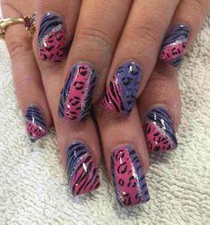 top cheetah print nail art 2016