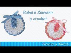 SOUVENIRS en tejido o ganchillo (Modelo Babero) tutorial paso a paso. Moda a Crochet Baby Shower Souvenirs, Baby Shower Favors, Shower Baby, Baby Shawer, Thread Crochet, Baby Items, Crochet Baby, Baby Strollers, Doll Clothes