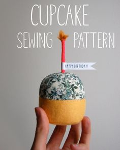 Cupcake Sewing Pattern