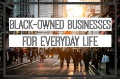 Brilliant list of Black-owned businesses. How To Shop Black-Owned Businesses For Everyday Life Black Entrepreneurs, African Diaspora, All Black Everything, African American History, Black Power, Black Is Beautiful, Black Girl Magic, Black History, Instagram